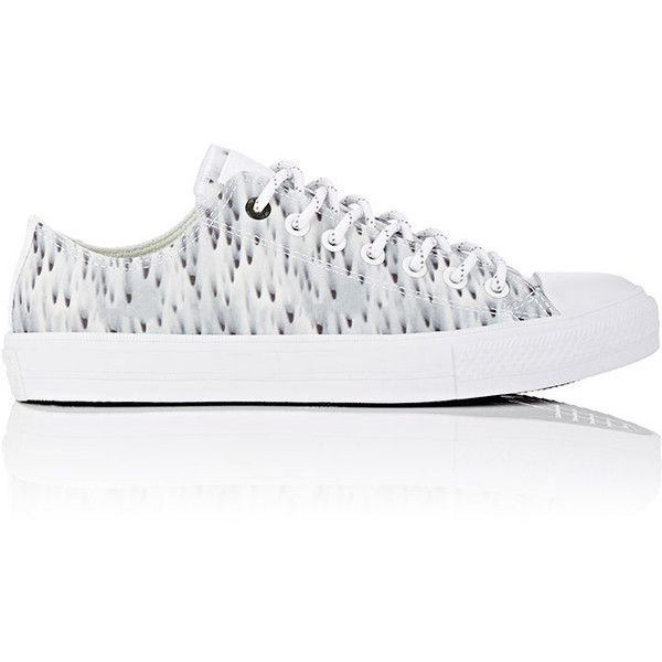 Converse Men's Chuck Taylor All Star II Ox Sneakers (320 BRL) ❤ liked on Polyvore featuring men's fashion, men's shoes, men's sneakers, white, converse mens sneakers, mens white shoes, mens white sneakers, converse mens shoes and mens lace up shoes