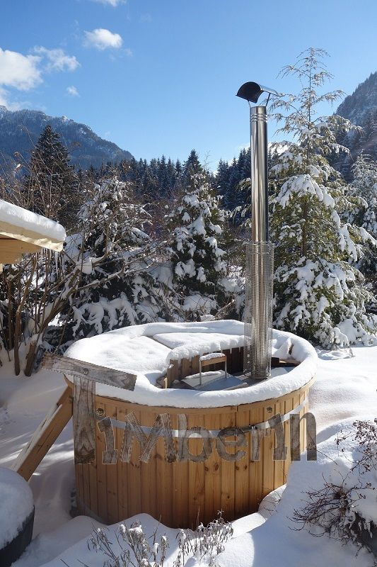 Die besten 25+ Badetonne Ideen auf Pinterest Badefass, Gartenbad - whirlpool im garten charme badetonne