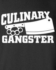 Culinary Gangster Chef prep Cook food foodie restaurant geek cool Prin   MAD LABS GEAR