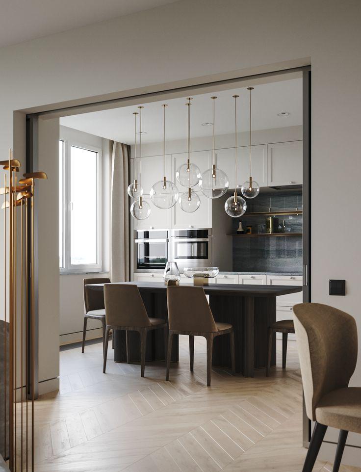"查看此 @Behance 项目:""Apartment in onyx colours""https://www.behance.net/gallery/60235781/Apartment-in-onyx-colours"