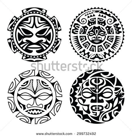 polynesian mask - Google Search