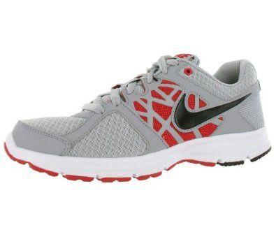 Nike Men's Air Relentless II Running Shoe Black/Red/Gray/White (7.5