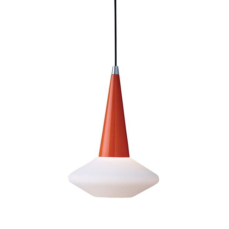 Dawn Taklampe Oransje/Hvit
