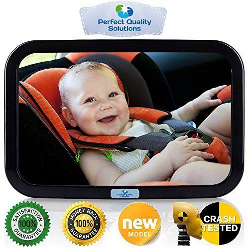 Blaward Baby Back Seat Mirror Shatterproof Rear Facing Pattern Auto Rearview To
