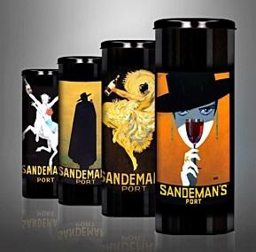 Sandeman's Port in limited edition vintage case