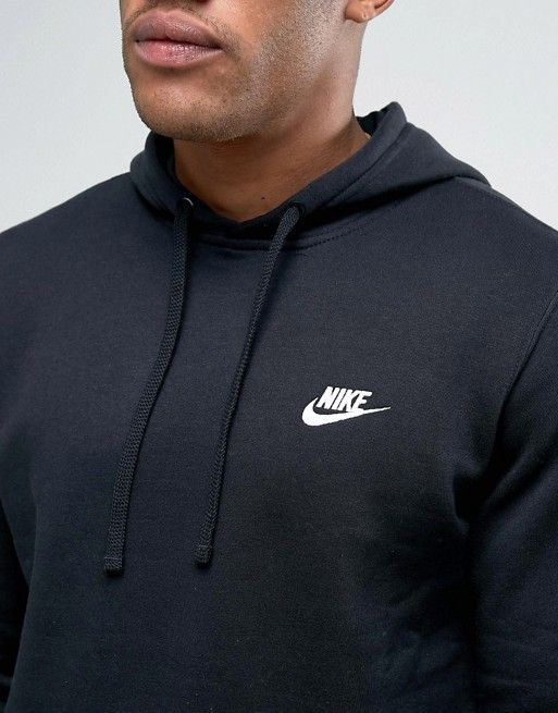 Nike Mens Sportswear Pull Over Club Hooded Sweatshirt