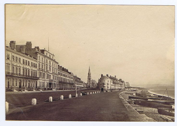 WEYMOUTH View in the Town - Antique Albumen Photograph c1890   eBay
