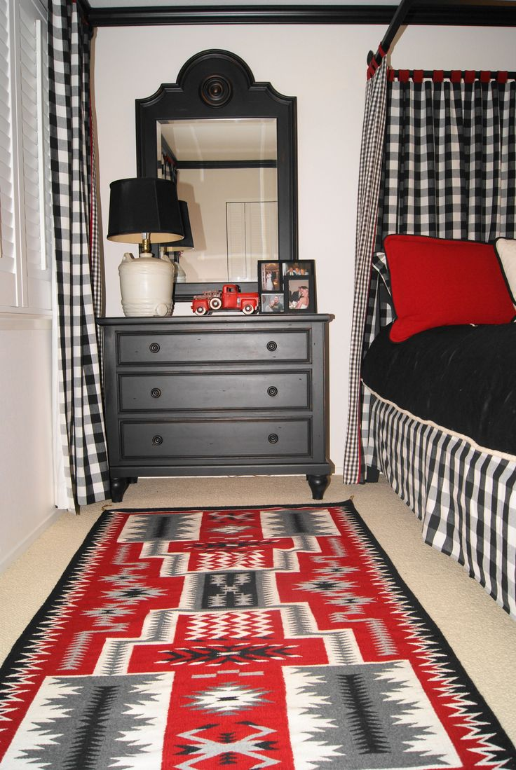 Red Bedroom Decorating Ideas Part - 39: White Black Red Gray This Is A Super Cute Room!