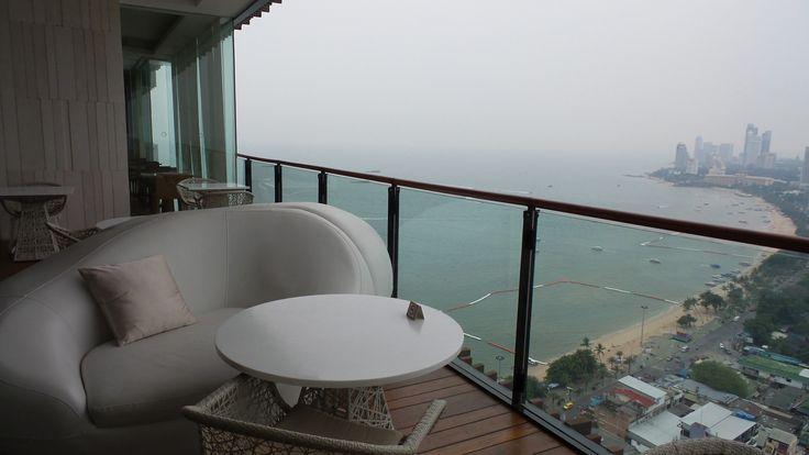 Executive Lounge at the Hilton Pattaya Hotel, Thailand