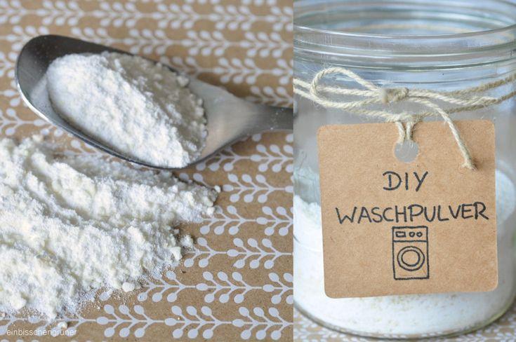 DIY Waschpulver ohne Plastik Waschpulver, Natürliche