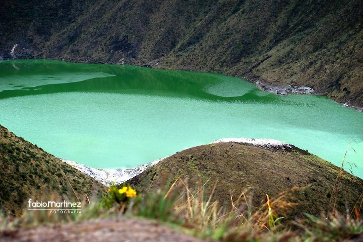 Laguna Verde / Cráter del Volcán Azufral / Sapuyes Nariño Colombia © Fabio Martínez Photography 2012  @fabiofamar
