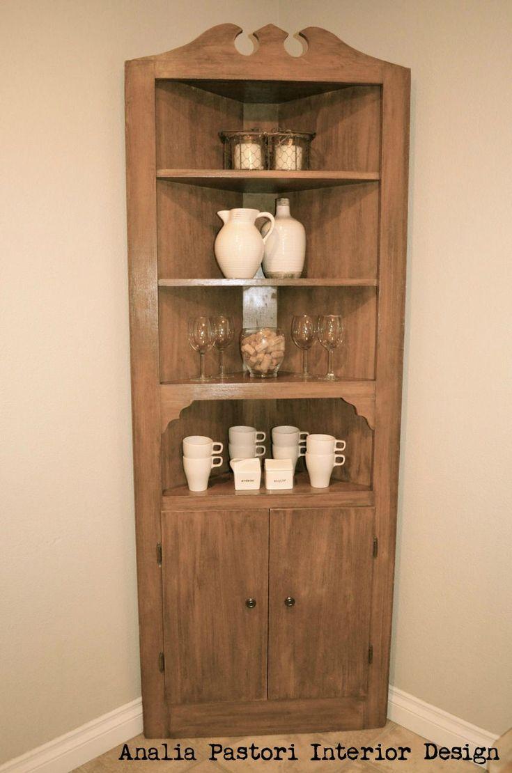Wooden Corner Unit Buffet By Analia Pastori Interior