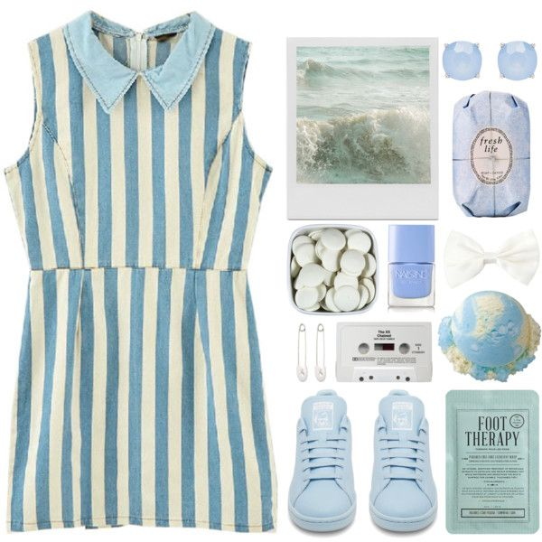 Lost At Sea by ladyvalkyrie on Polyvore featuring adidas, Kristin Cavallari, Forever New, Forever 21, Fresh, Kocostar, Nails Inc. and CASSETTE