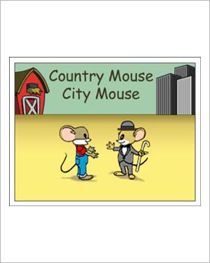 country mouse city mouse free reading activity for kids rc resource city vs country kids. Black Bedroom Furniture Sets. Home Design Ideas