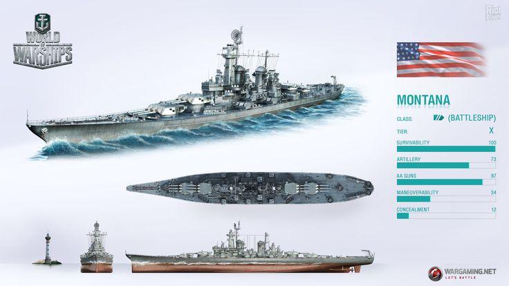 Montana - Class Battleship, US