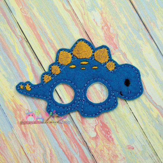 Stegosaurus Finger Puppet Imaginative Play by SurprisePartyShop