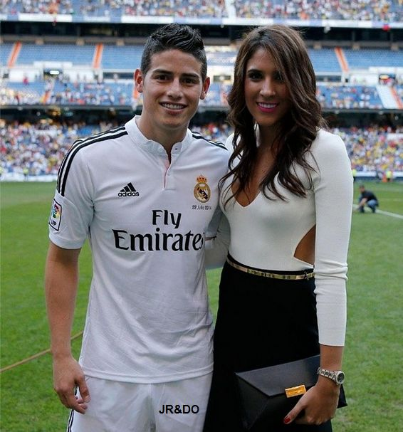 Hottest Wives & Girlfriends of Real Madrid Soccer Team - James Rodriguez WAG – Daniela Ospina