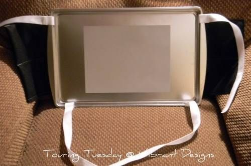 Carseat Travel Tray Tutorial - HOME SWEET HOME