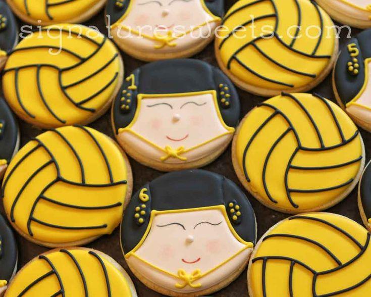 custom hand decorated cookies sports, football, baseball, basketball, softball, water polo, hockey, lacrosse, tennis, games