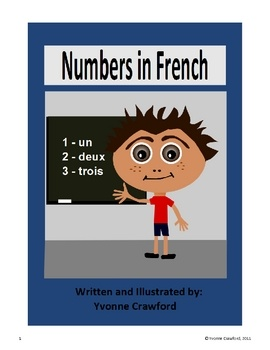 Numbers in French focuses on numbers and the verb 'to have' in French. Included: 12 full color pages of months with a pronunciation guide for...