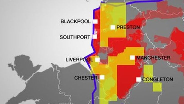 'Fracking': The potential for shale gas in the north west - BBC News