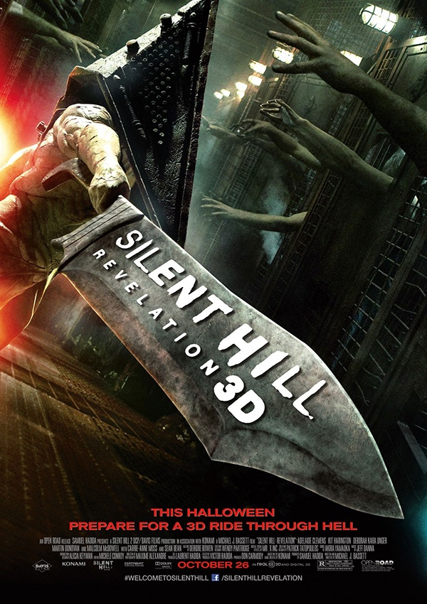 Official poster from Silent Hill: Revelation