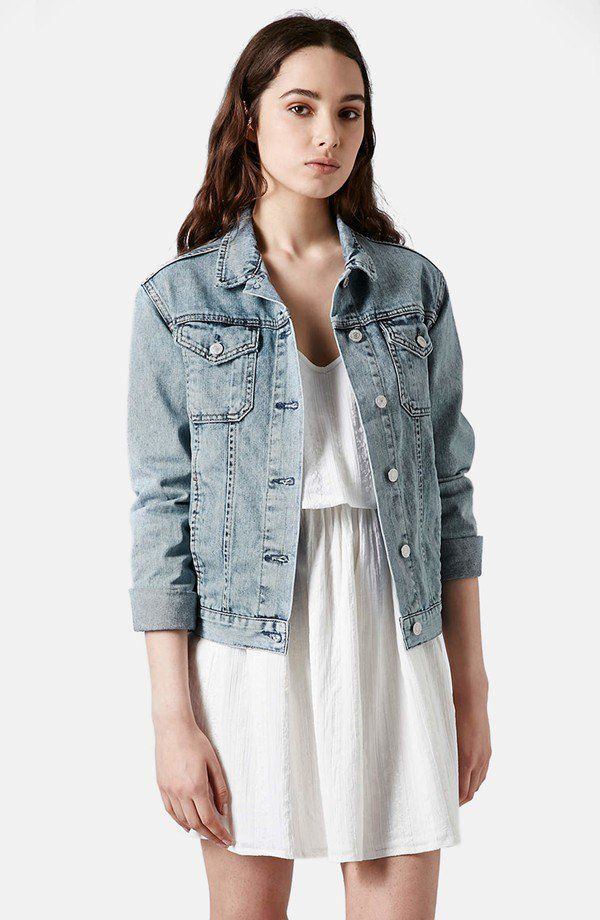 Pin for Later: 431 Truly Awesome Fashion Gifts For Everyone on Your List  Topshop Denim Jacket ($96)