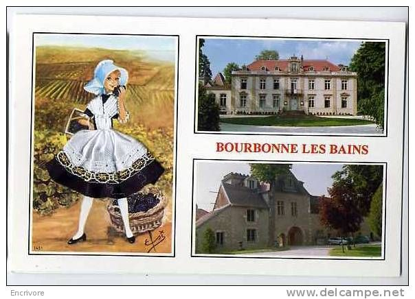 Bourbonne les Bains is a health resort, due to hot springs. North-Eastern France