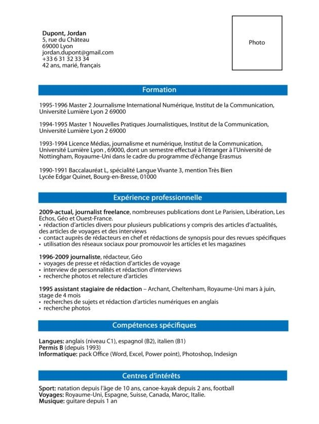 How To Write A Great French Cv Working In France In 2020 Cv Template French Vocabulary Cv Design Template