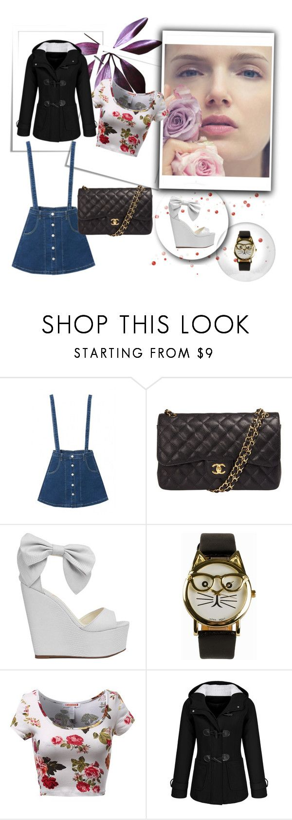 """""""Pretty"""" by pipsqueak24 on Polyvore featuring Chanel, Privileged by J.C. Dossier, JFR, women's clothing, women's fashion, women, female, woman, misses and juniors"""