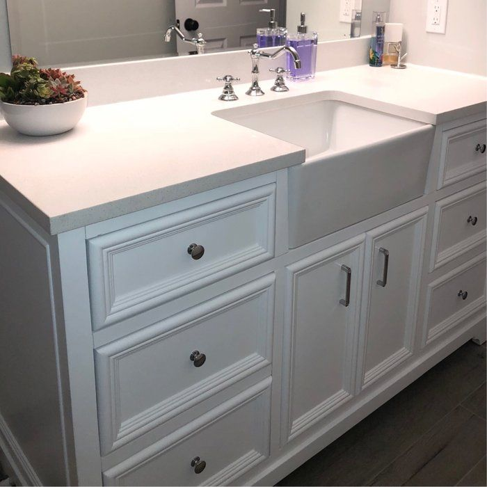 Kbc Zelda 60 Single Bathroom Vanity Set Reviews Wayfair Contemporary Small Bathrooms Small Bathroom Vanities Small Bathroom Remodel