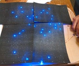 Combining a love of astronomy with electrical engineering, you and your kids can build the night sky out of simple circuits! Amazing, beautiful, and incredibly simple.