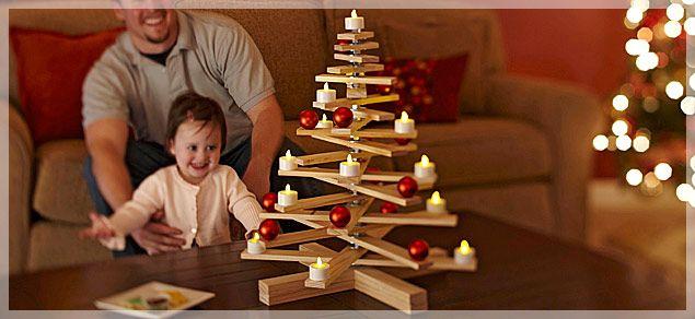 DIY Scandinavian Inspired Pine Christmas Tree
