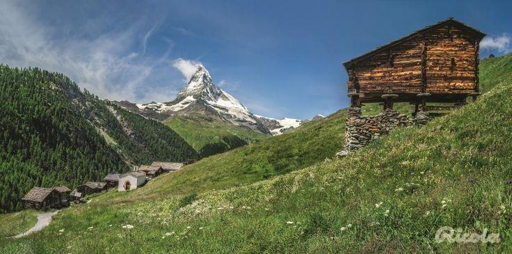 #Switzerland #Matterhorn #Field #Alps #Ricola