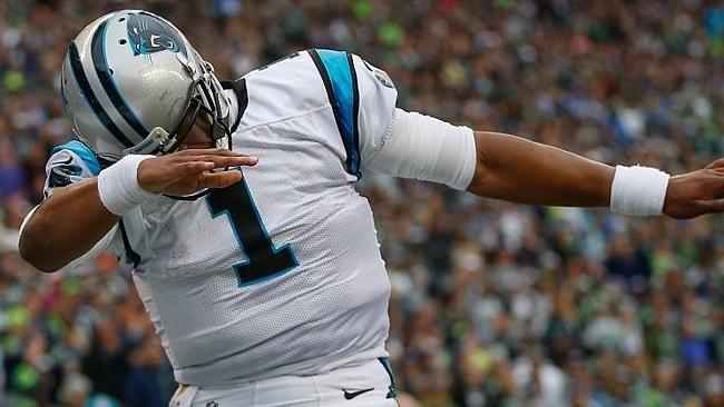 NFL week 11, NFL Blitz, Cam Newton, Dabbing, dab, dance craze | US ...