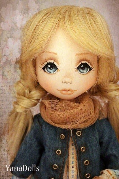 knotted braids....YanaDolls: Наташа