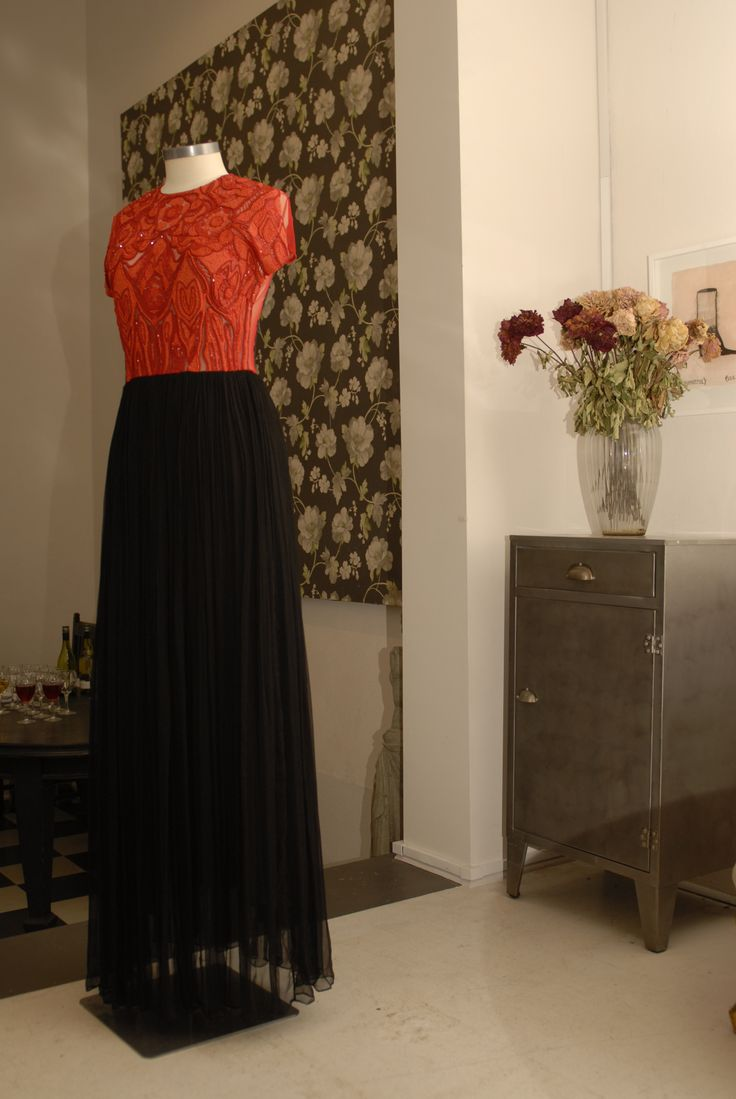 Trelise Cooper Red Alert dress is now in store at Trelise Cooper Wellington.