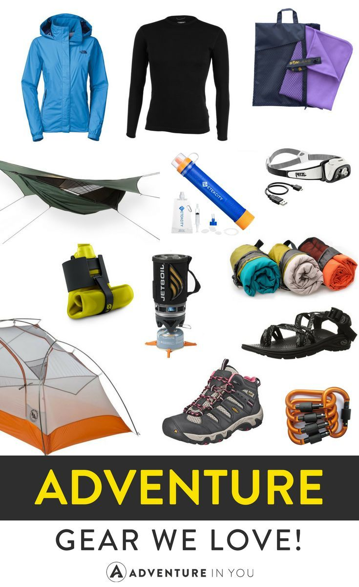 Adventure Gear | Looking for the best adventure gear? Here is our list of travel items we love!