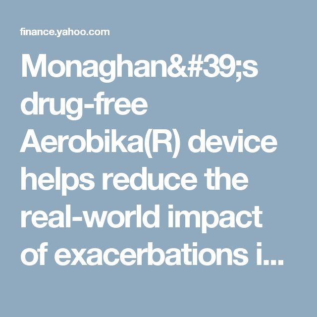 the aerobika r device marketed by monaghan Monaghan medical corporation (mmc) today announced the publication of a study in pulmonary therapy showing that treatment with monaghan's aerobika® device can.