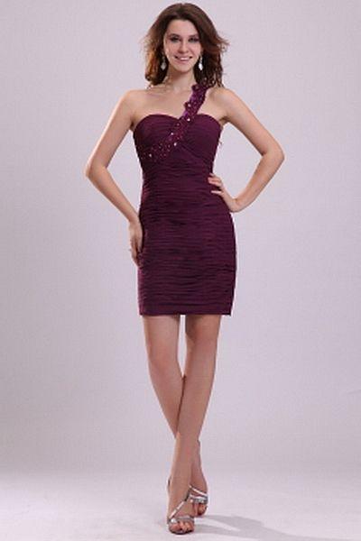 Red Chiffon Sheath/Column Formal Dresses sfp2338 - http://www.shopforparty.com/red-chiffon-sheath-column-formal-dresses-sfp2338.html - COLOR: Red; SILHOUETTE: Sheath/Column; NECKLINE: One-shoulder; EMBELLISHMENTS: Beading , Applique , Draped , ; FABRIC: C