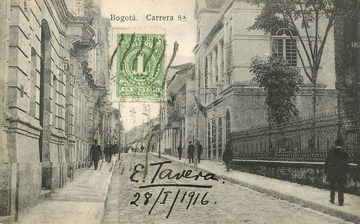Carrera Octava de Bogotá en 1916