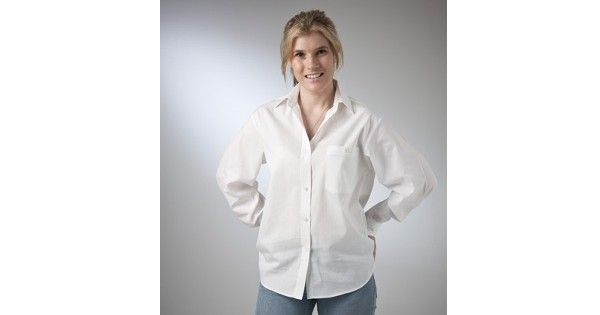 Country Classic Collection – Style 612416 (Long Sleeve) & Style 612426 (Short Sleeve) are a Self-Stripe Classic Blouse made from Cotton Rich fabric in White and are available in sizes – 8 – 22