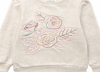 Bhs Girls Girls Embroidered Flower Sweatshirt, This oatmeal sweatshirt with colourful flower embroidery, looks great with our embroidered dark wash jeans.Machine Washable80% Cotton, 20% Polyester http://www.comparestoreprices.co.uk/kids-clothes--girls/bhs-girls-girls-embroidered-flower-sweatshirt-.asp