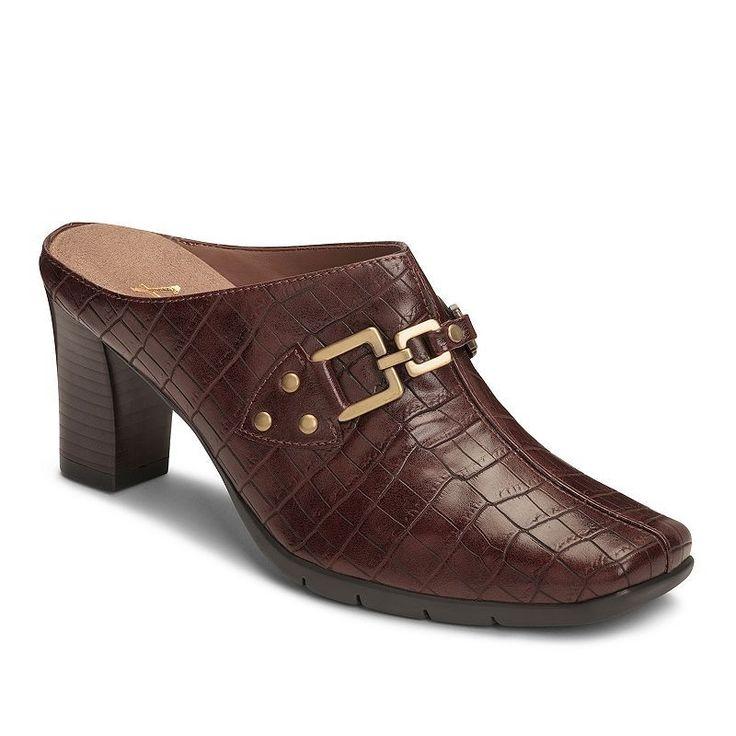 A2 by Aerosoles Matrimony Women's Heeled Clogs, Size: medium (7.5), Natural