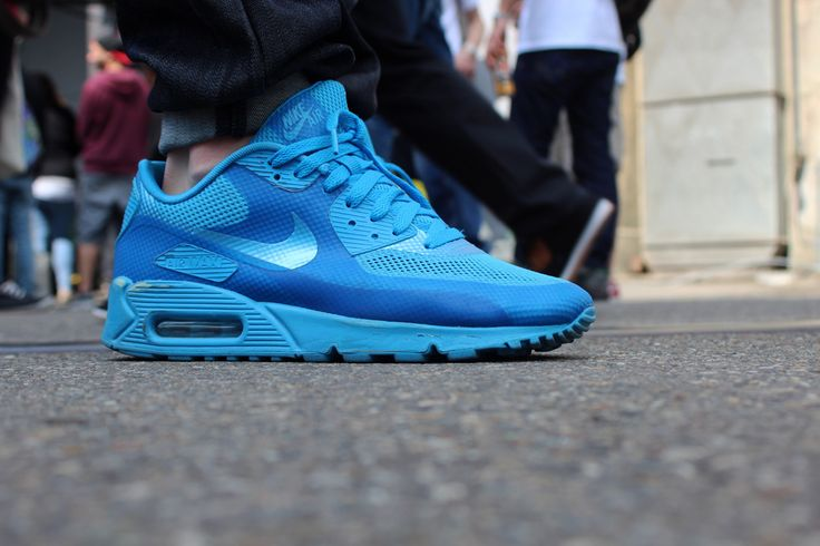 Nike Air Max 90 Hyperfuse: blue