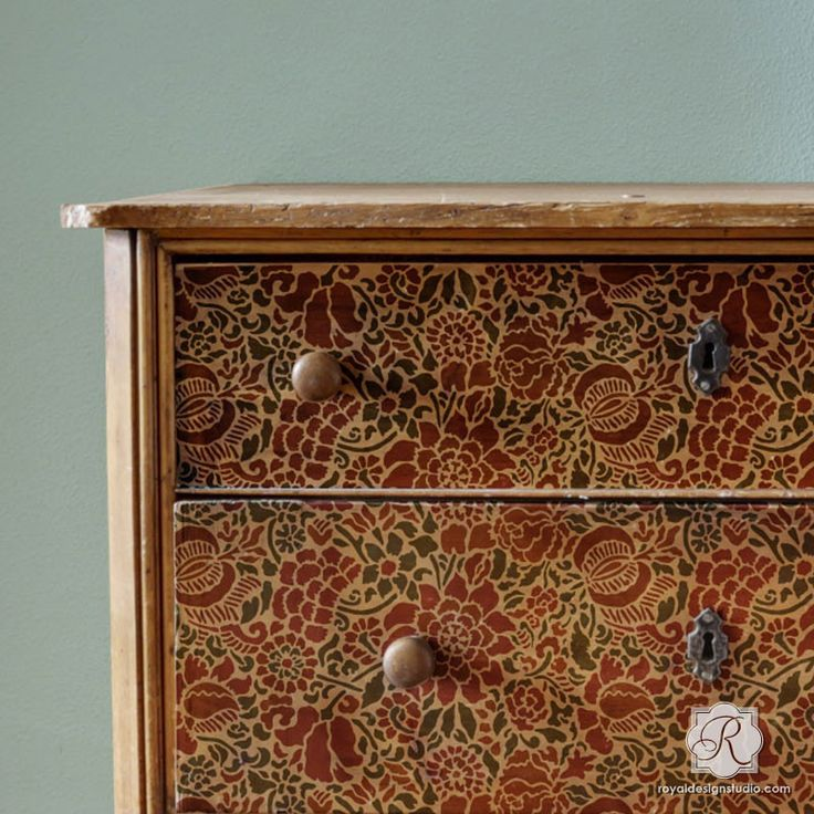465 Best Images About Stenciled And Painted Furniture On