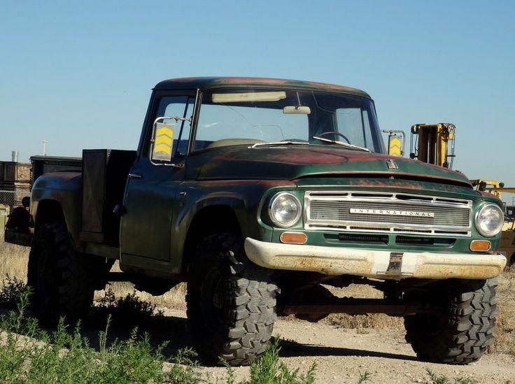 Old International Harvester : Details about international harvester other pickup