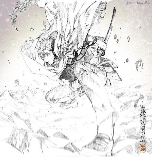 『山姥切国広』 #刀剣乱舞版深夜のお絵描き60分一本勝負