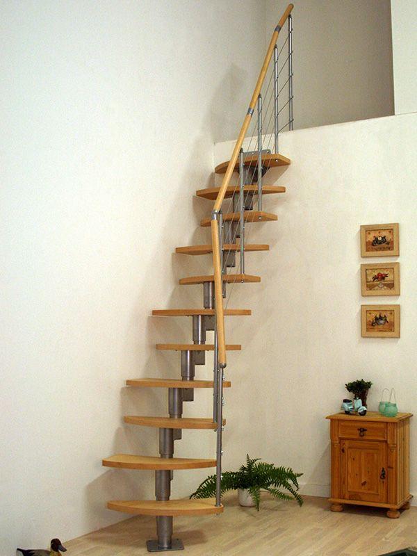 Furniture,Modern Minimalist Space Saver Staircase Danish DIY Stair Kit  Design Inspirations,Modest Space