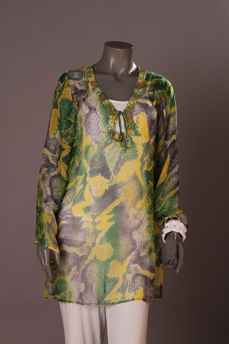 Tunic Silk Beach Break